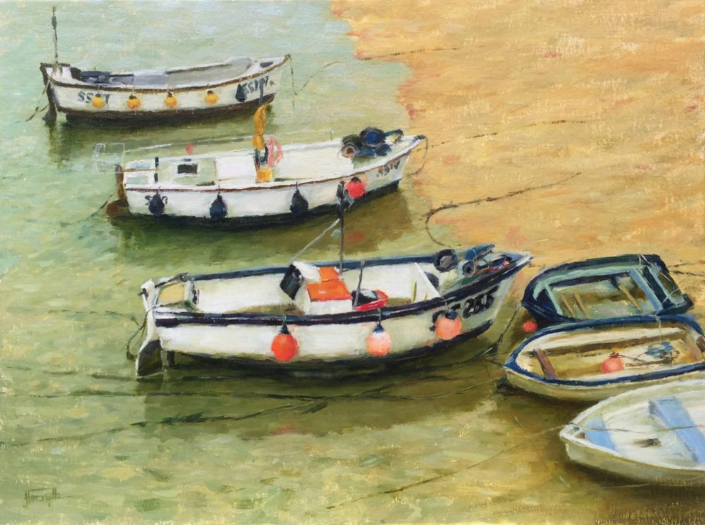 St Ives – Boats On The Beach