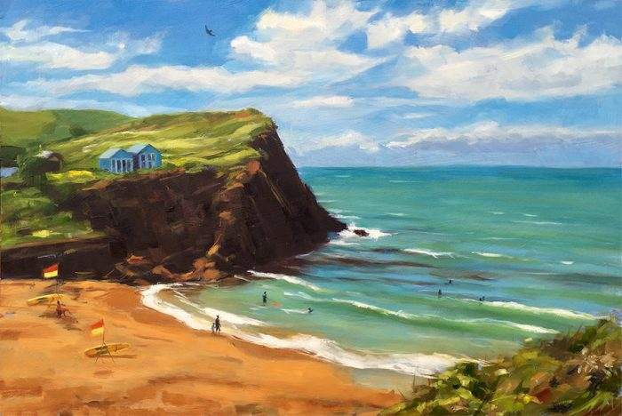 Sunny Day at Hope Cove
