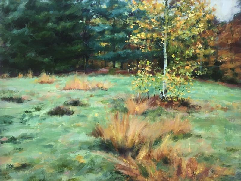 Original oil painting Soft light in Keston