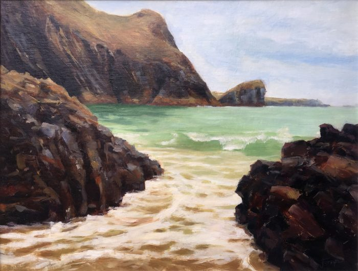 Evening Tide at Kynance Cove