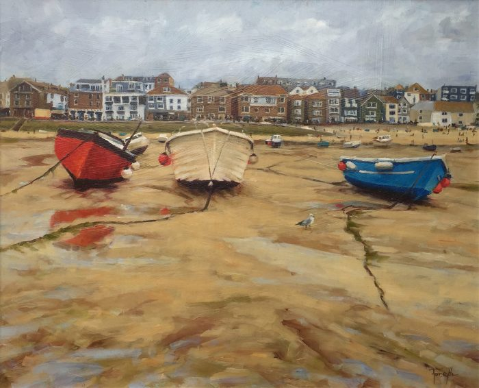 Cloudy Day In St Ives